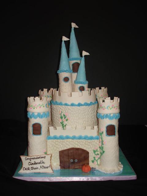 Cinderella Castle Cake Two Tier Castle Cake Buttercream