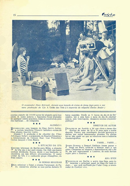 Cinéfilo, No. 73, January 11 1930 - 14