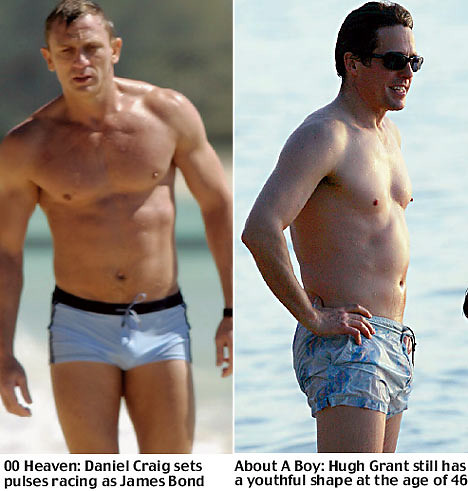 daniel craig and hugh ...