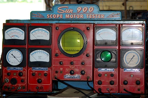 Sun 900 scope motor tester sun electric corporation for Electric motor repair chicago