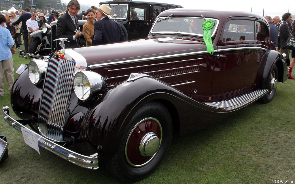 1937 hispano suiza k6 henri chapron coach mouette maroon. Black Bedroom Furniture Sets. Home Design Ideas