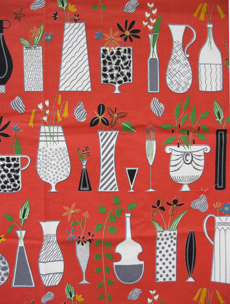 Doris Lee 1952 This Awesome Fabric Is From Riverdale And