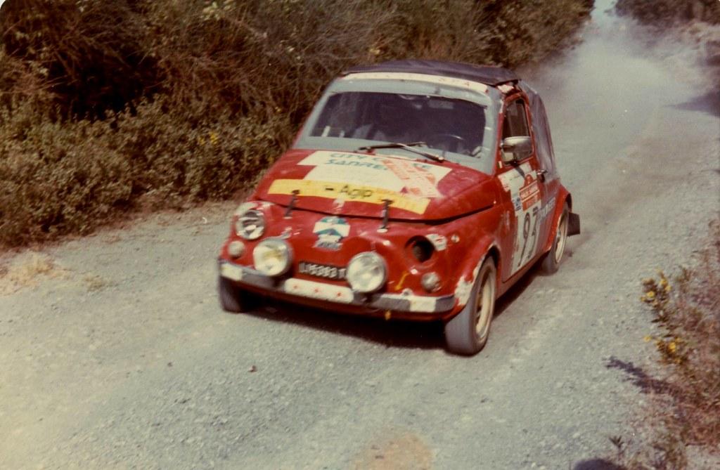 Fiat 500 Al Rally Di Sanremo 1980 Francisuao Flickr