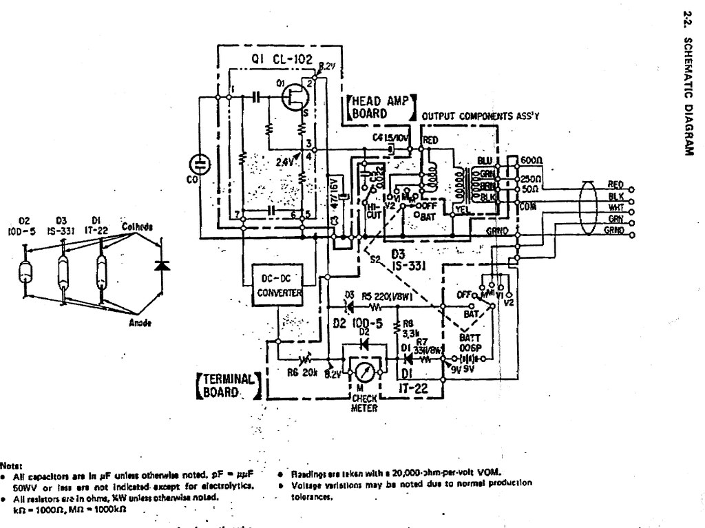 schematic  sony c38   c37fet   c38a