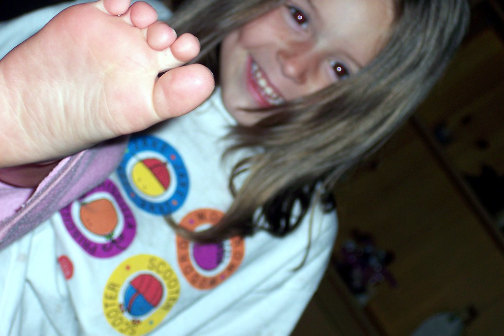 Aunty, smell my feet! | Kids are the best medicine! | Flickr