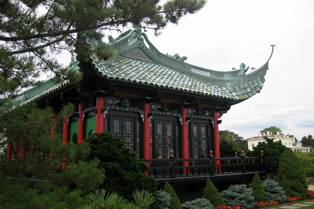 Cost Of Moving >> RI - Newport: Marble House - Chinese Tea House | The Marble … | Flickr