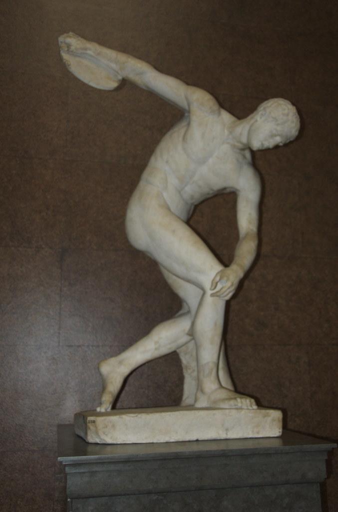 Discobolus Discus Thrower Sculpture British Museum Flickr