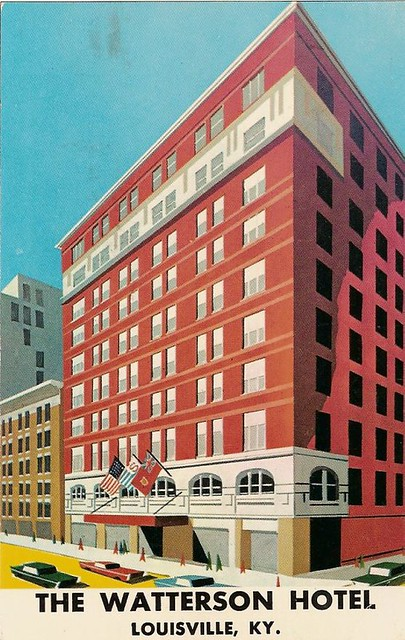 The watterson hotel cool modern postcard style verso for Watterson dining