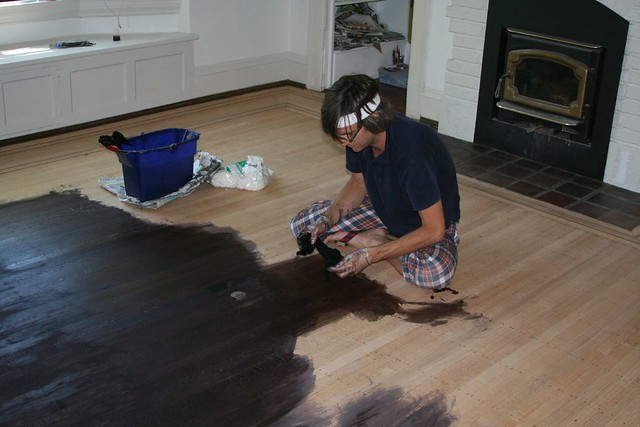 Ebony Stain On Oak Floors How To Read This First I E Ou