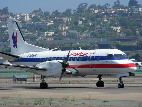 American Eagle Saab 340 | by So Cal Metro