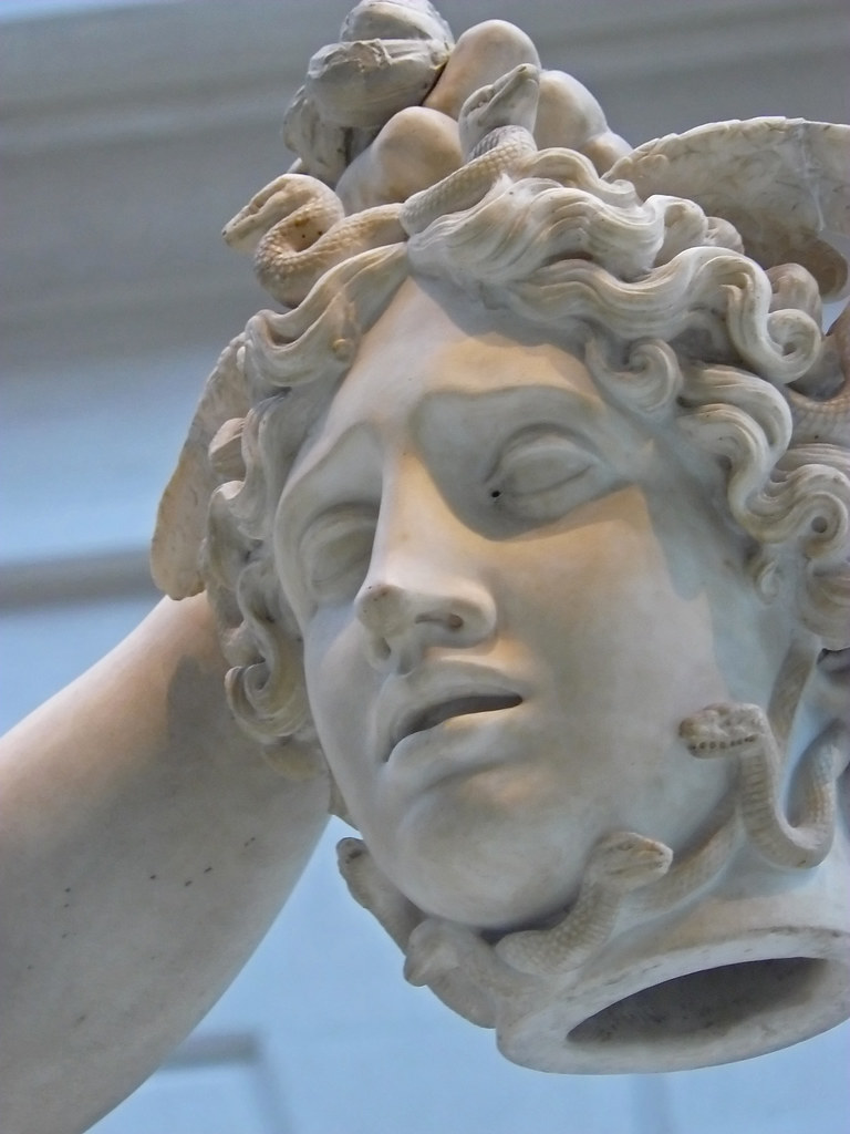 canovas perseus with head of medusa essay Is another principal character who is the one that kill medusa (gorgons are three sisters and one of them is medusa) the myth tells the story of how medusa was killed by perseus medusa was a monster that convert people into rock and had the head with snakes perseus does not embody or represent.
