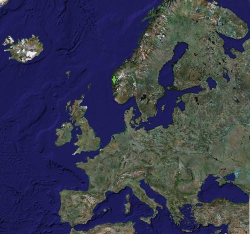 Europa Mapa De Europa Sacado De Google Maps Zentolos