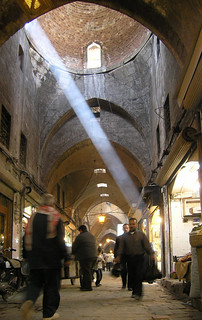 the souk / souq or bazaar in aleppo, syria, easter 2004 | by seier+seier