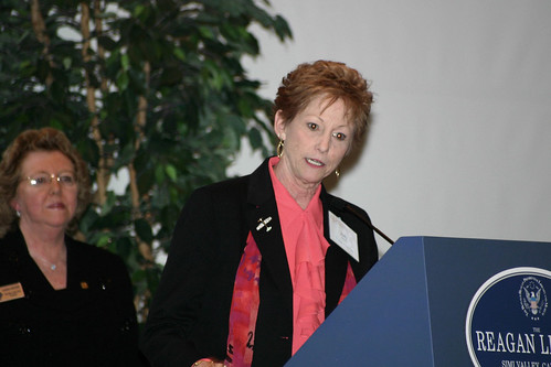 Supervisor Judy Mikels Speaking at Leadership Dinner | by California State University Channel Islands