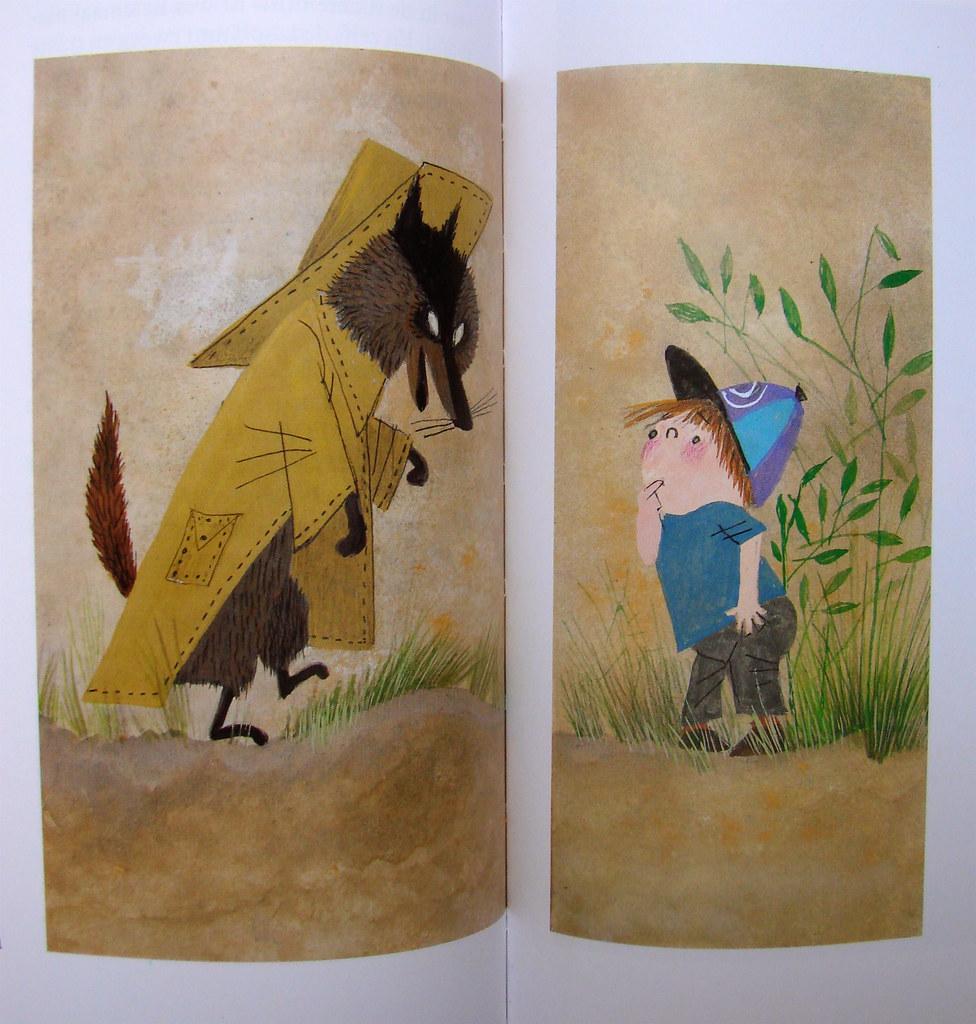Pluk ontmoet de heen en weerwolf from pluk van de pettte