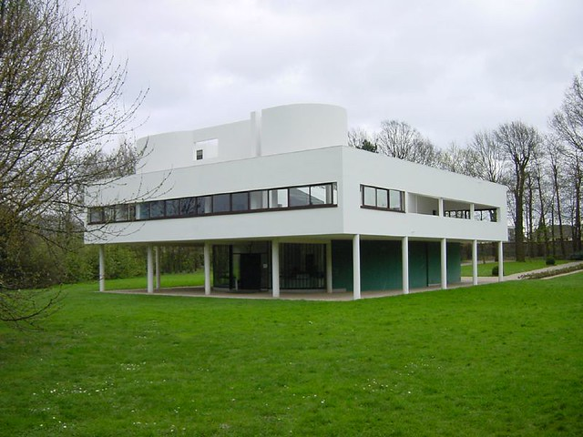 Villa Savoye, Le Corbusier, Poissy | Timothy Brown | Flickr
