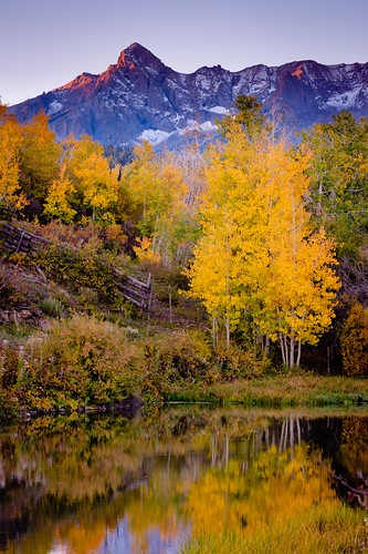 Dallas Divide Reflection | by Dan Ballard Photography