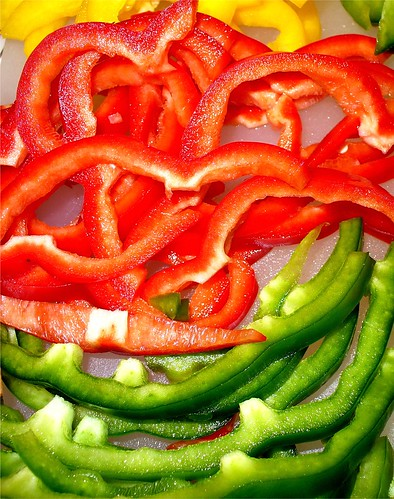 Sliced Bell Peppers | Flickr - Photo Sharing!