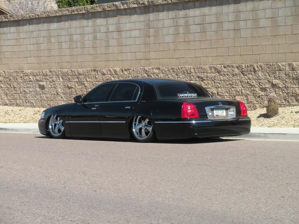 Lincoln Town Car Bagged Darkside Projektz Flickr