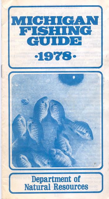 1978 michigan fishing license guide flickr photo sharing for Fishing license mi