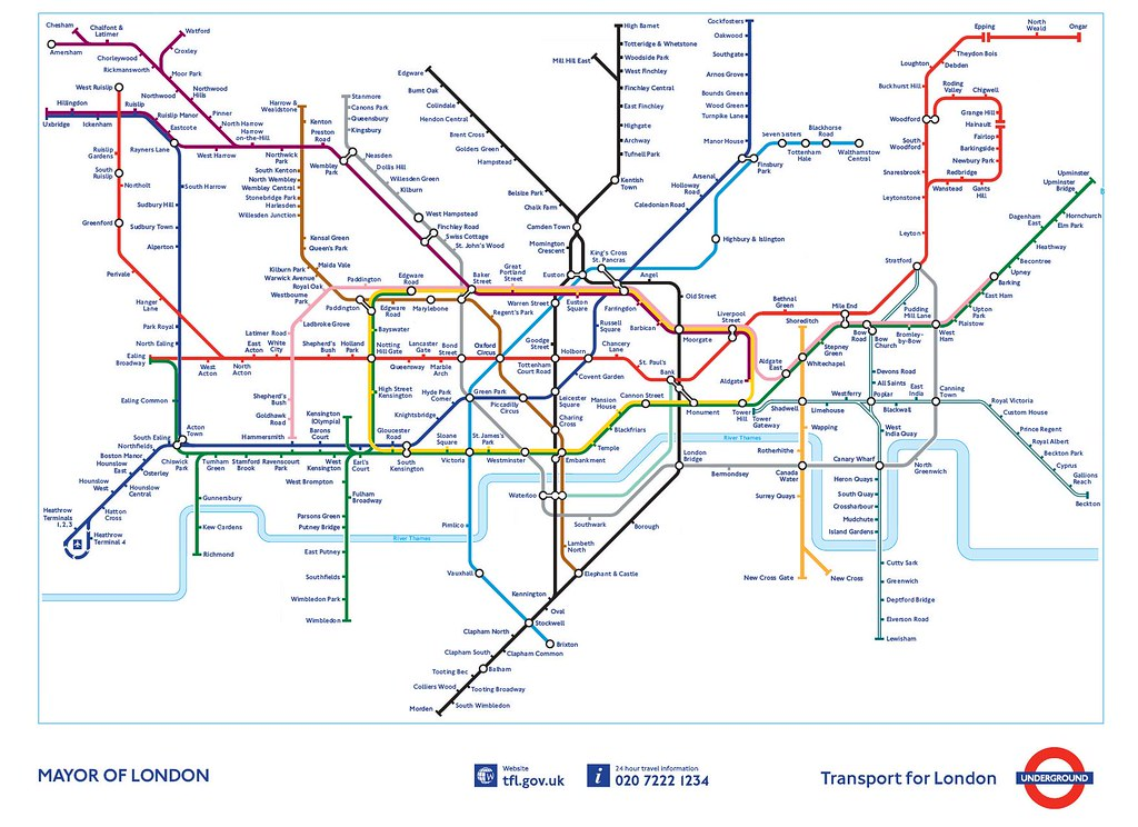 Tube Map 2000 | What todays London Underground Map might hav ...