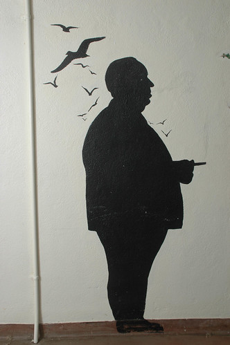 Walk of Fame, Mural of Alfred Hitchcock | by California State University Channel Islands