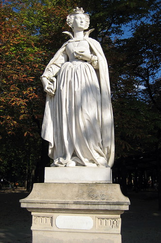 paris luxembourg quarter jardin du luxembourg statue de marie stuart flickr photo sharing. Black Bedroom Furniture Sets. Home Design Ideas