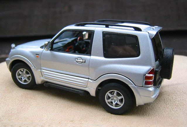 mitsubishi pajero shogun montero 4x4 1 43 scale model car flickr. Black Bedroom Furniture Sets. Home Design Ideas