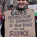 Gaza's Destruction is supported by your taxes and your Silence