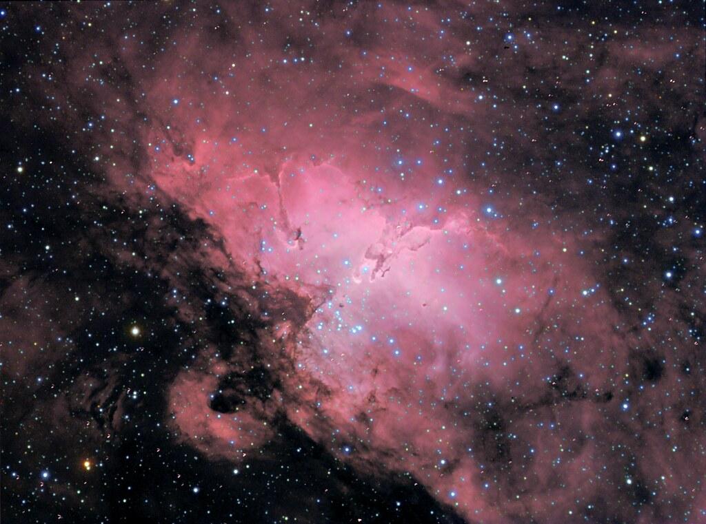 m16 eagle nebula face - photo #25