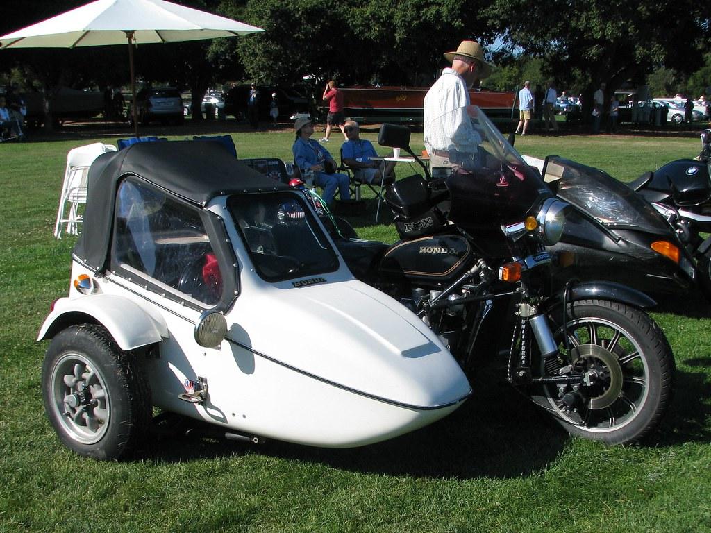 1981 Honda Goldwing Motorcycle & Sidecar 2 | Photographed at… | Flickr
