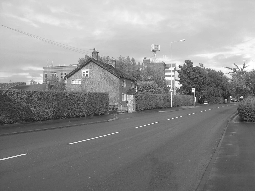 Almost Home With A Grim Looking Cottage And A 1960s