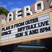 AERO Theatre Marquee, Santa Monica, Ca.