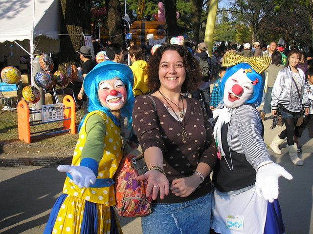 Clowning around...