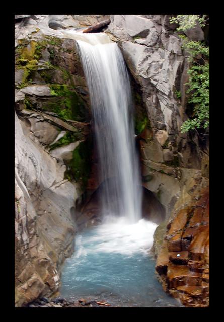 Crystal Falls Mt Rainier National Park Flickr Photo