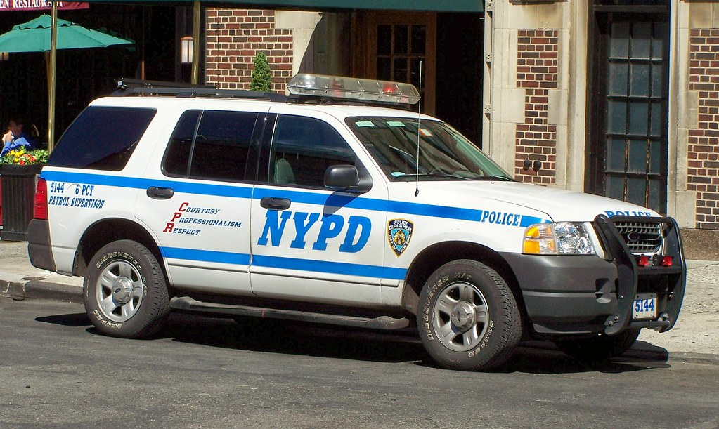 Nypd Suv Rmp 6th Pct Patrol Supervisor Unit Tom Link