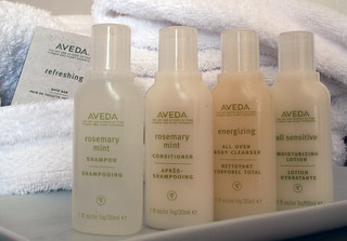Aveda Spa Toiletries in all Guestrooms | by thepalmshotel