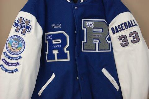 high school football letterman jacket