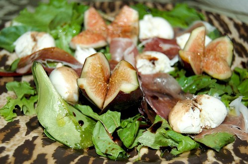 Fig and Prosciutto Salad | I made a salad consisting of fres ...