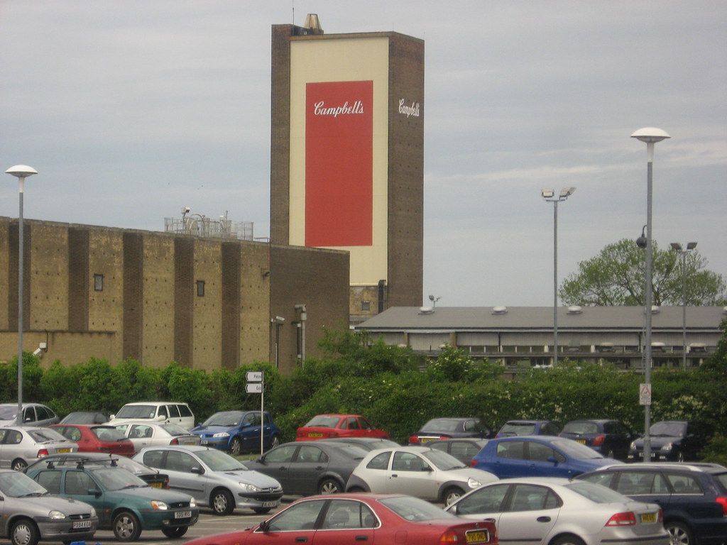 Campbell's Soup Factory, Kings Lynn, Norfolk, old A47 rout… | Flickr