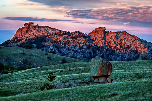 Vedauwoo Rocks Sunset Reflections | by Fort Photo