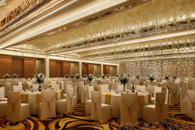 Hotel Ballroom 3d Rendering 3d Visualization Services