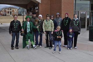 Gold Hill Mesa Go Green Event - Resident St. Patrick's Day Walk to Bear Creek Park (2) | by Gold Hill Mesa