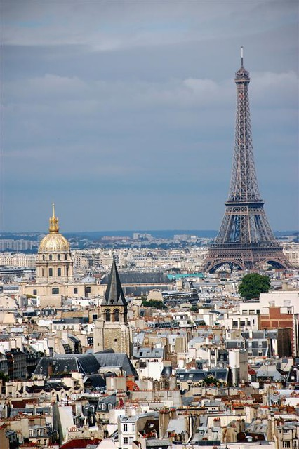 Bell tower of Notre Dame | Three landmarks as seen from ...