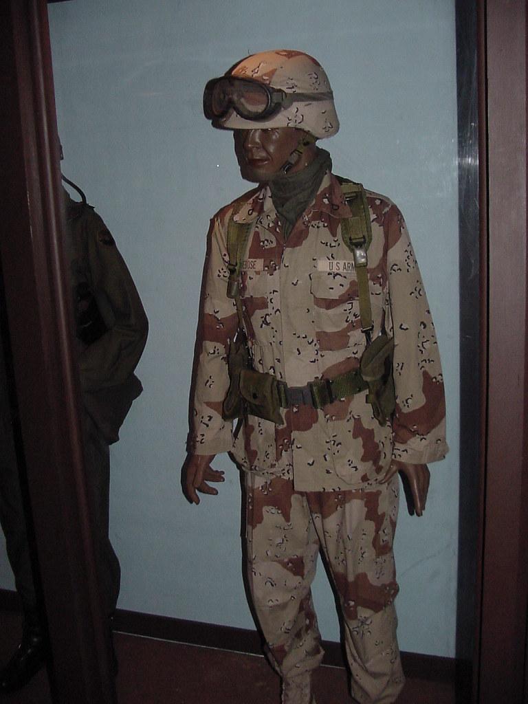 Persian Gulf War Era Uniform The Military Museum At Fort