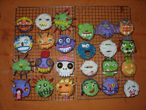 Halloween Cupcakes 2005 Our Halloween Cupcakes From