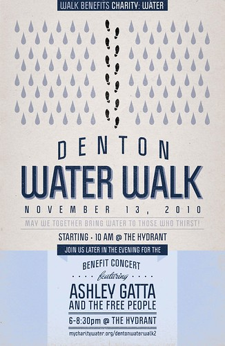 water walk poster | by Poster Dezigner