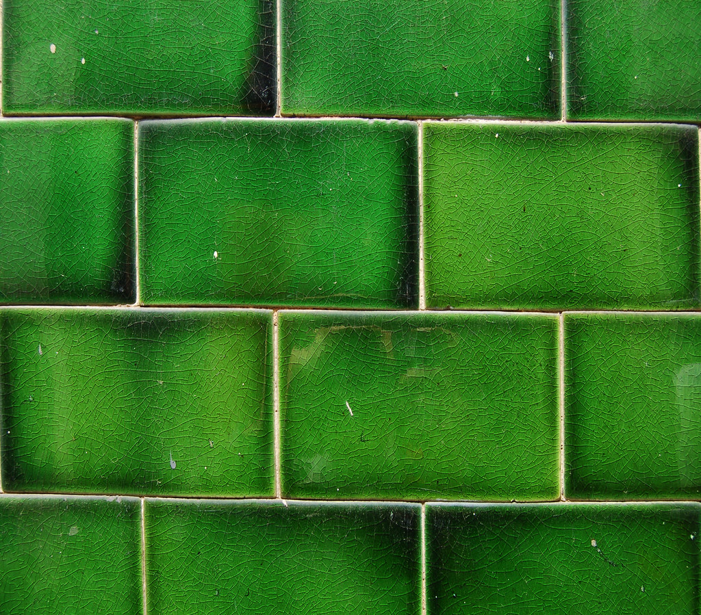 Green Tiles Pub Tiles Hollywell Row Homemade Flickr