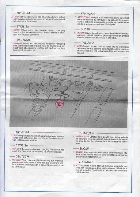 volvo 240 trailer hitch wiring instructions page 7 flickr rh flickr com