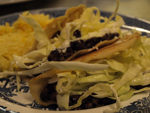 Black Bean and Goat Cheese Tacos | Flickr - Photo Sharing!
